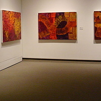 Gallery View, Mackenzie Art Gallery - 2011 by Marilyn Nelson