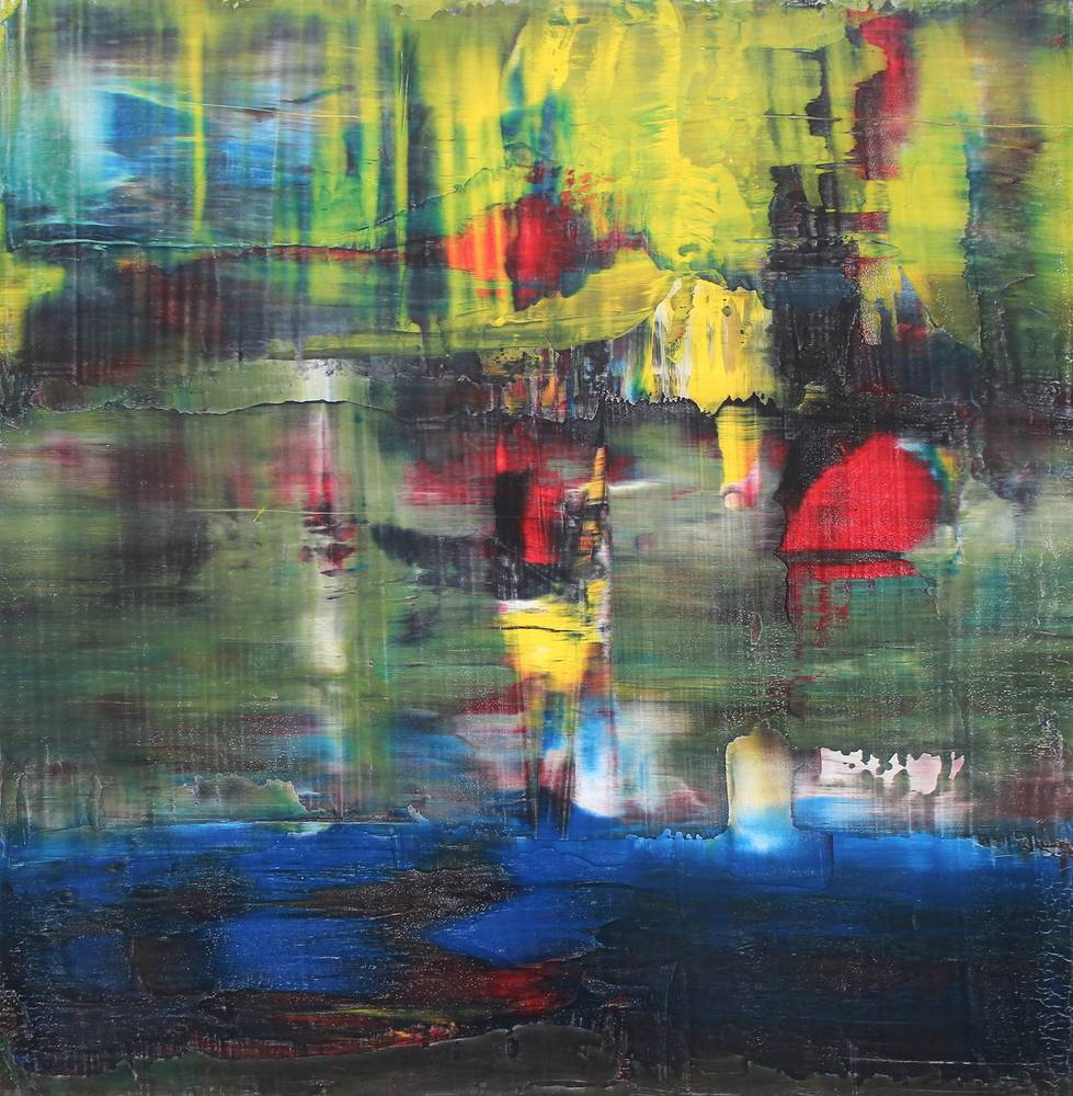 "Immersion ~ 48"" x 48"" ~ $1,200 by Paul Catalanotto"