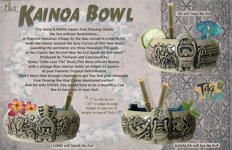 Kainoa bowl by Kenneth M Ruzic