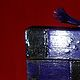 Acrylic painting PURPLE BOX by Georgette  Jones