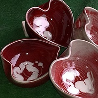 Heart Bowls by Jack Caselles