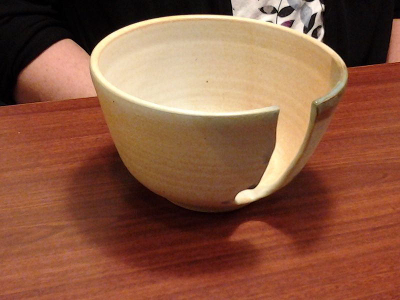 Yarn Bowl by Jack Caselles