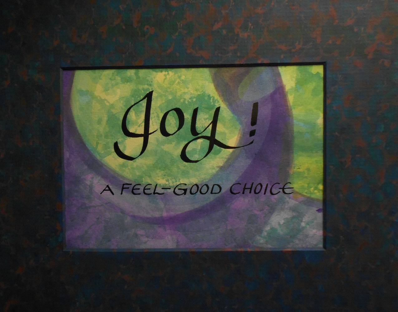 Painting JOY by Georgette  Jones