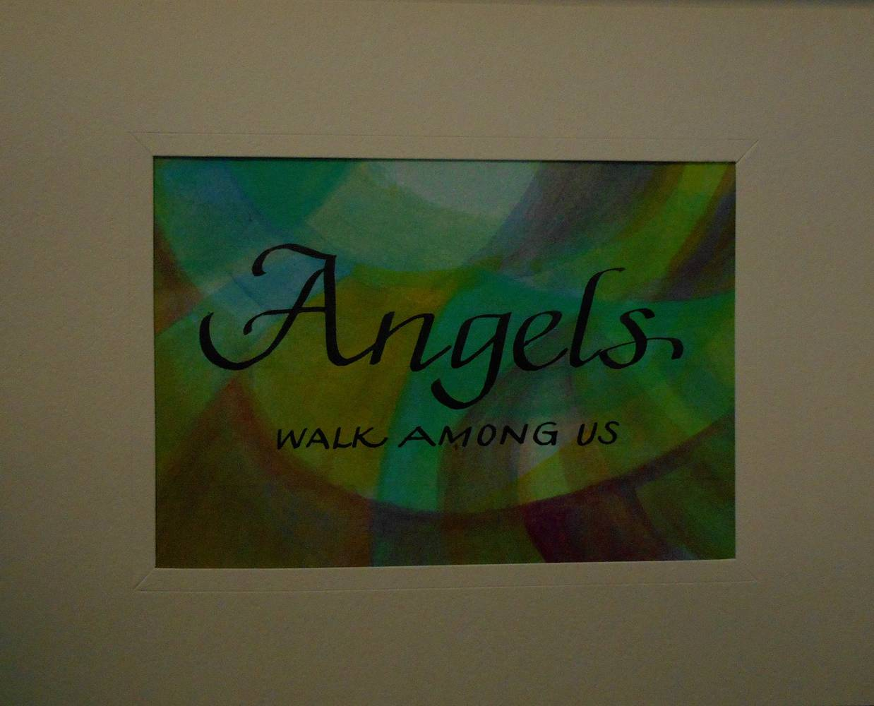 Painting ANGELS  by Georgette  Jones