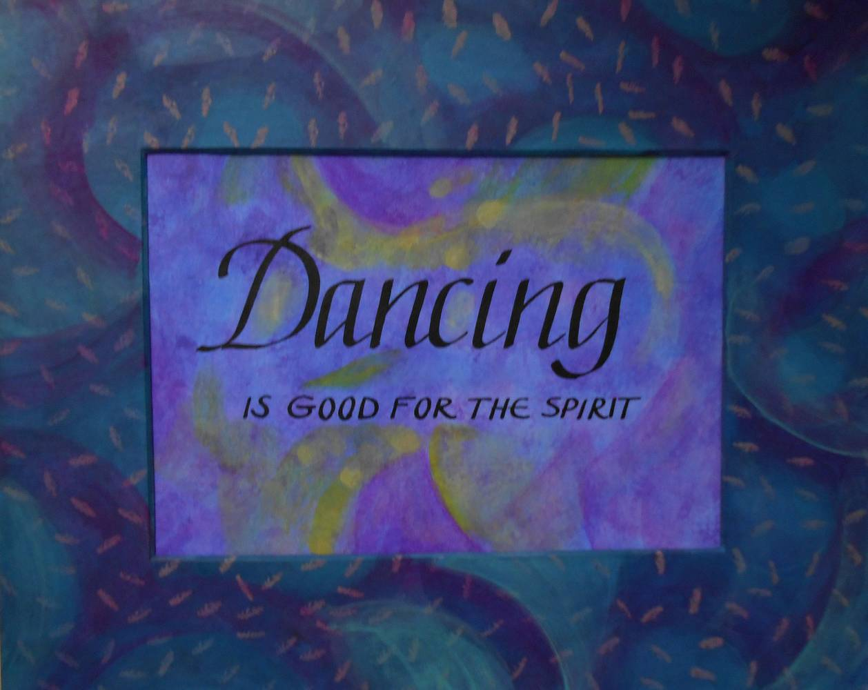 Painting DANCING by Georgette  Jones