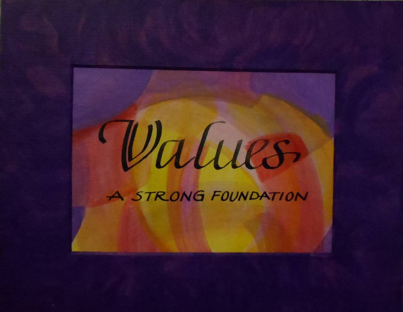 Painting VALUES by Georgette  Jones