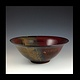 red bowl by Elaine Clapper