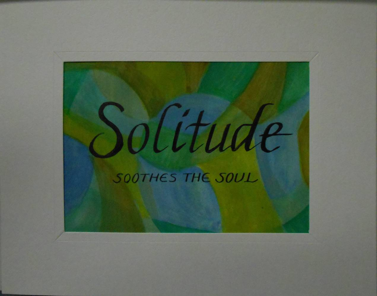 SOLITUDE (2) by Georgette  Jones