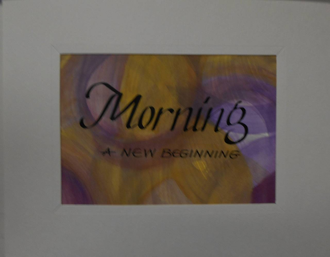 MORNING by Georgette  Jones