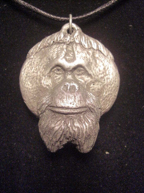 Pongo Light cold cast pewter by Jason  Shanaman