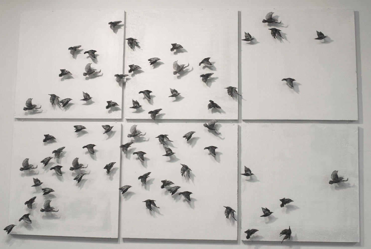 Print 3D Flock (2nd installation) by Nicole Richards