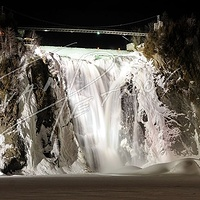 #YUL22 - Montmorency Falls in Winter by Ivan Petrov