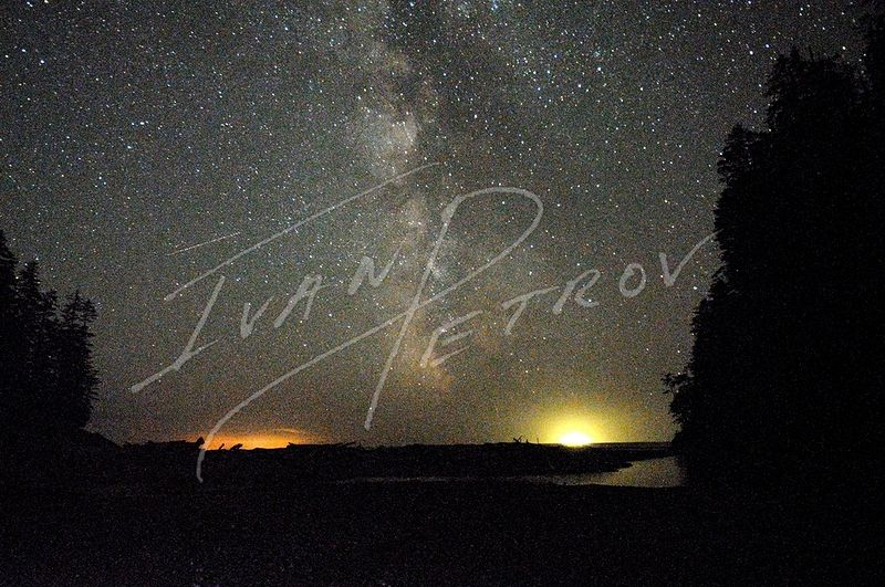 #YVR15 - The Milky Way from Camper's Bay by Ivan Petrov