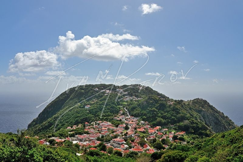 #SAB21 - View of Windwardside by Ivan Petrov