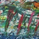 Acrylic painting Surfing At Yuletide by Steven Simmons