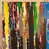 Acrylic painting diversity by Jeffrey Newman