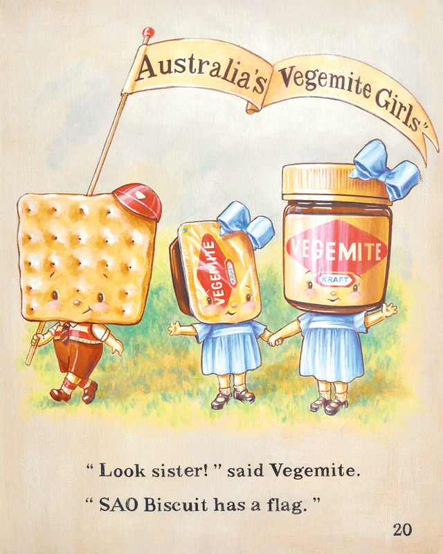 VEGEMITE by Cindy Scaife