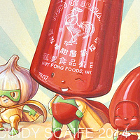 SRIRACHA  by Cindy Scaife