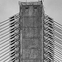 Port Mann South Tower Structure  by William Kent