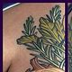 Vegetable tattoo Tofino B.C. by Erin  Burge