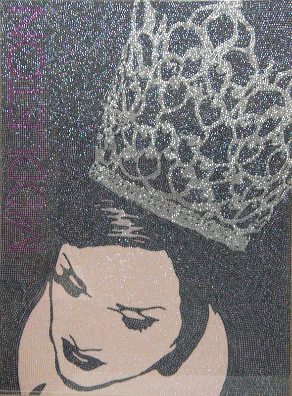 Acrylic painting Tiara by Stephen Middleton