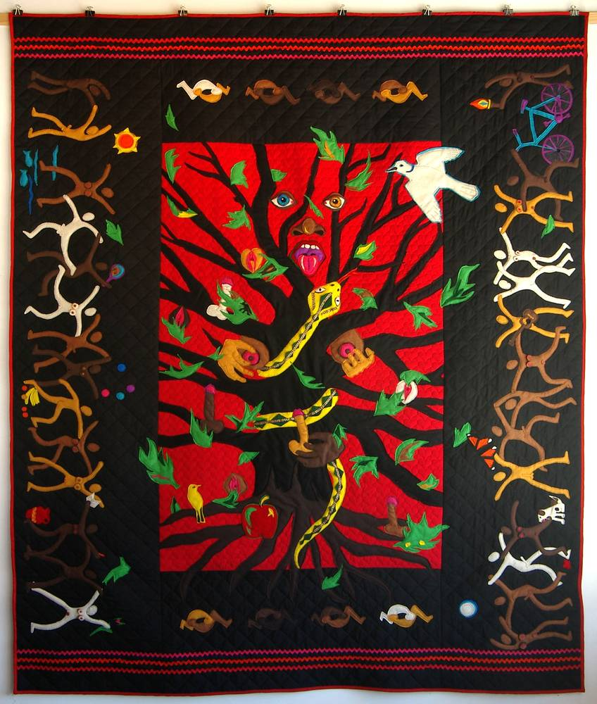 Tree of Life Quilt by Micky Renders
