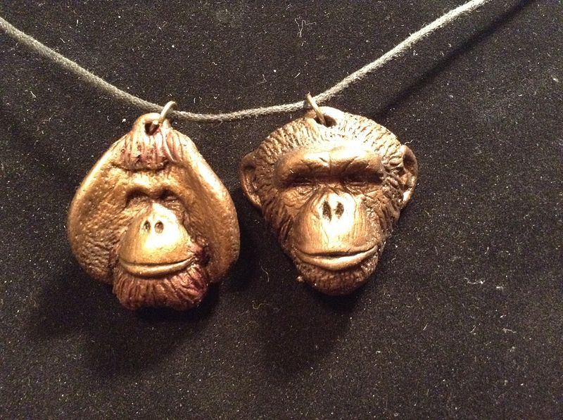 Linus and Knuckles pendant set by Jason  Shanaman
