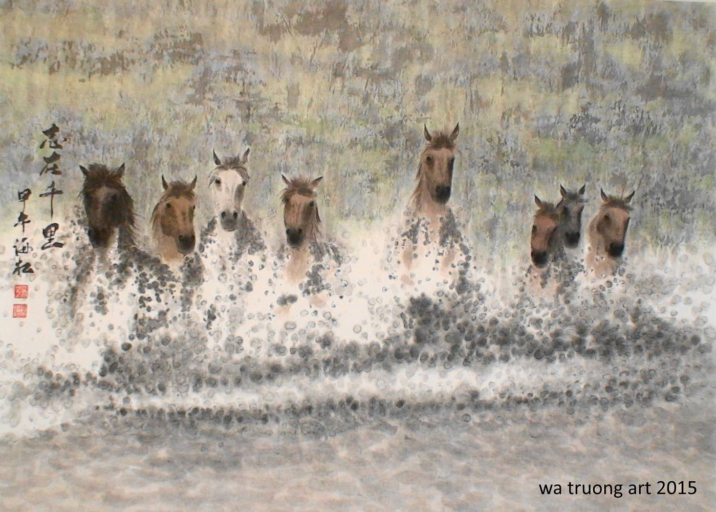 8 Horses by Dat Truong