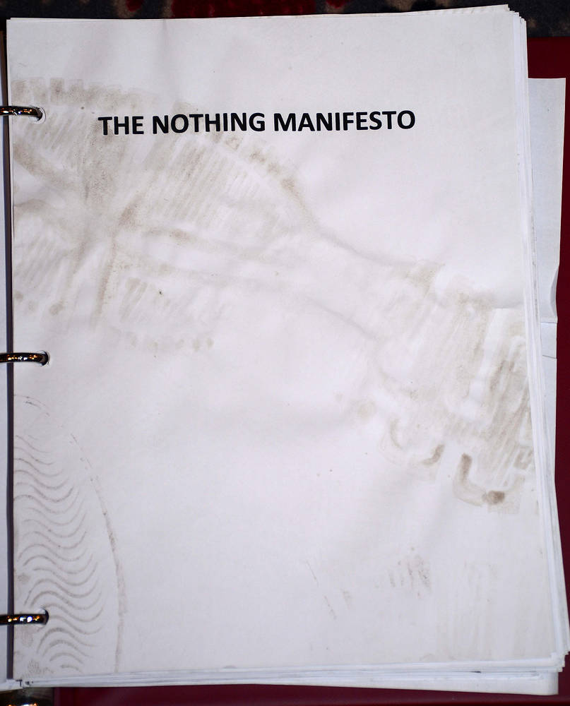 The Nothing Manifesto by Ron Crowcroft