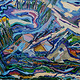 Wind and  Water 2000 24x36 by Jeffrey Fine