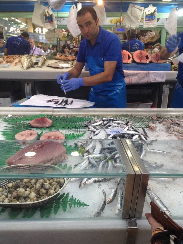 Oviedo: Fishmarket 3 by Sarah James