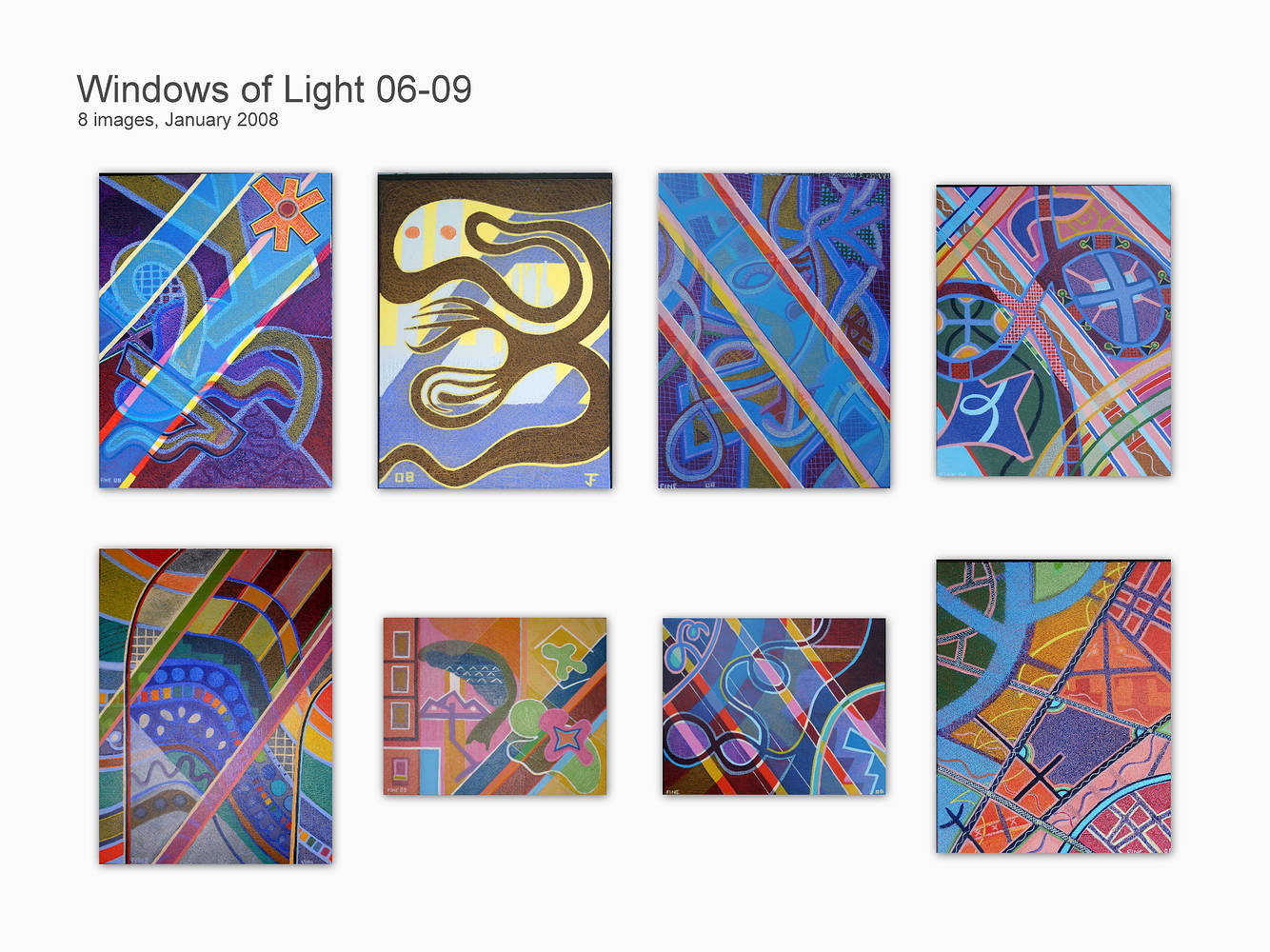 Windows of Light 06-09 by Jeffrey Fine