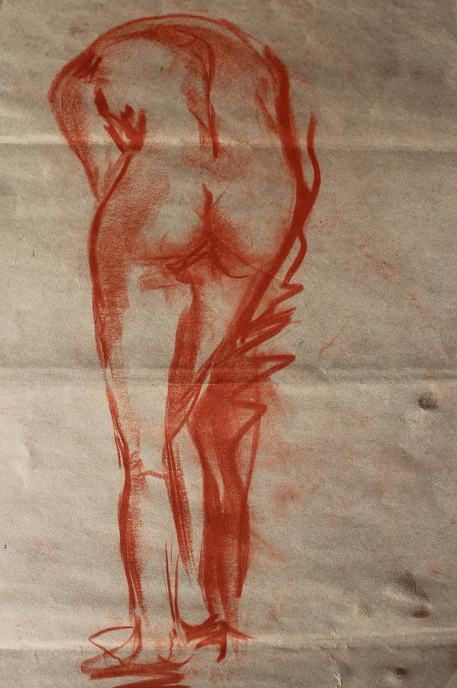 Figure drawing  by Lisa Printz