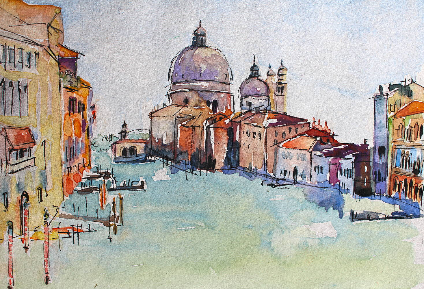 Watercolor Venice  by Lisa Printz