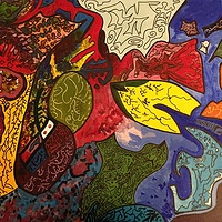 Acrylic painting IMG_3797 by Steven Graubart