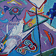 Painting The Evolution of Bug to Bird 2001 30x40 by Jeffrey Fine