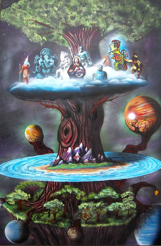 Print Yggdrasil by Isaac Carpenter