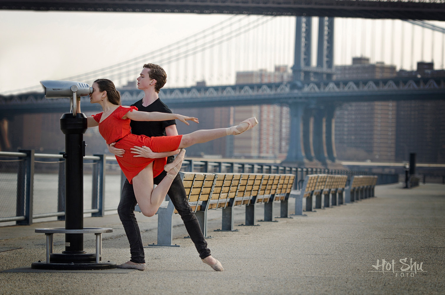 Rachel Kivlighan Orlando Ballet II & Connor Holloway- apprentice with the American Ballet Theatre by Doug Berry