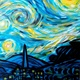 Print Starry Night  by Isaac Carpenter