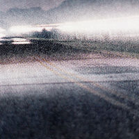 """untitled"" (highway at dusk) by Kyla Slobodin"