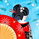 G is for Geisha Girl by Valerie Lesiak