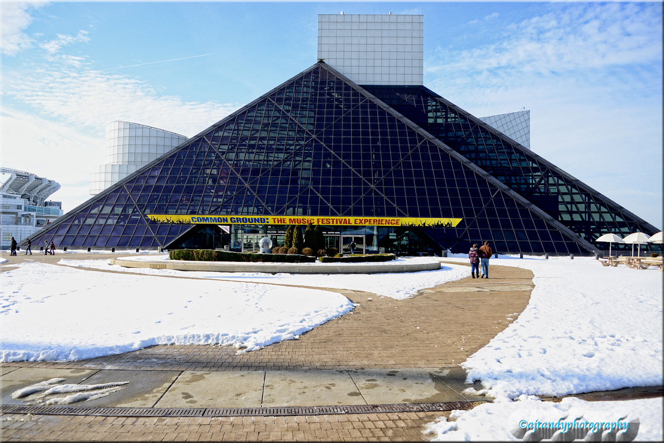 Rock/Roll Hall Of Fame by Andy Humphrey