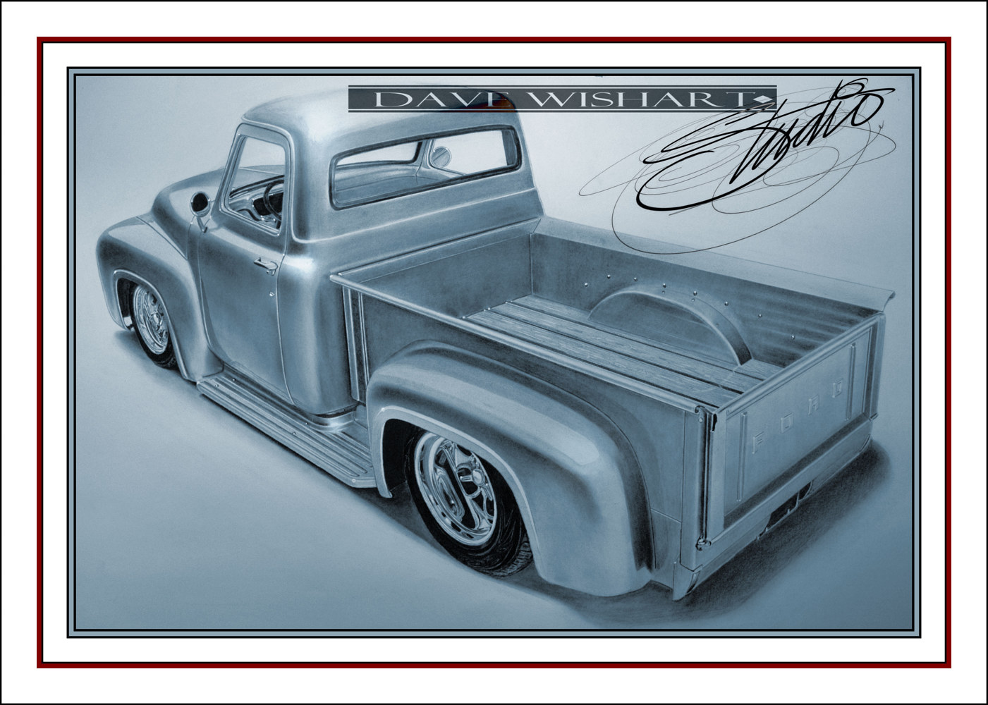 '53 Ford F100 by Dave Wishart