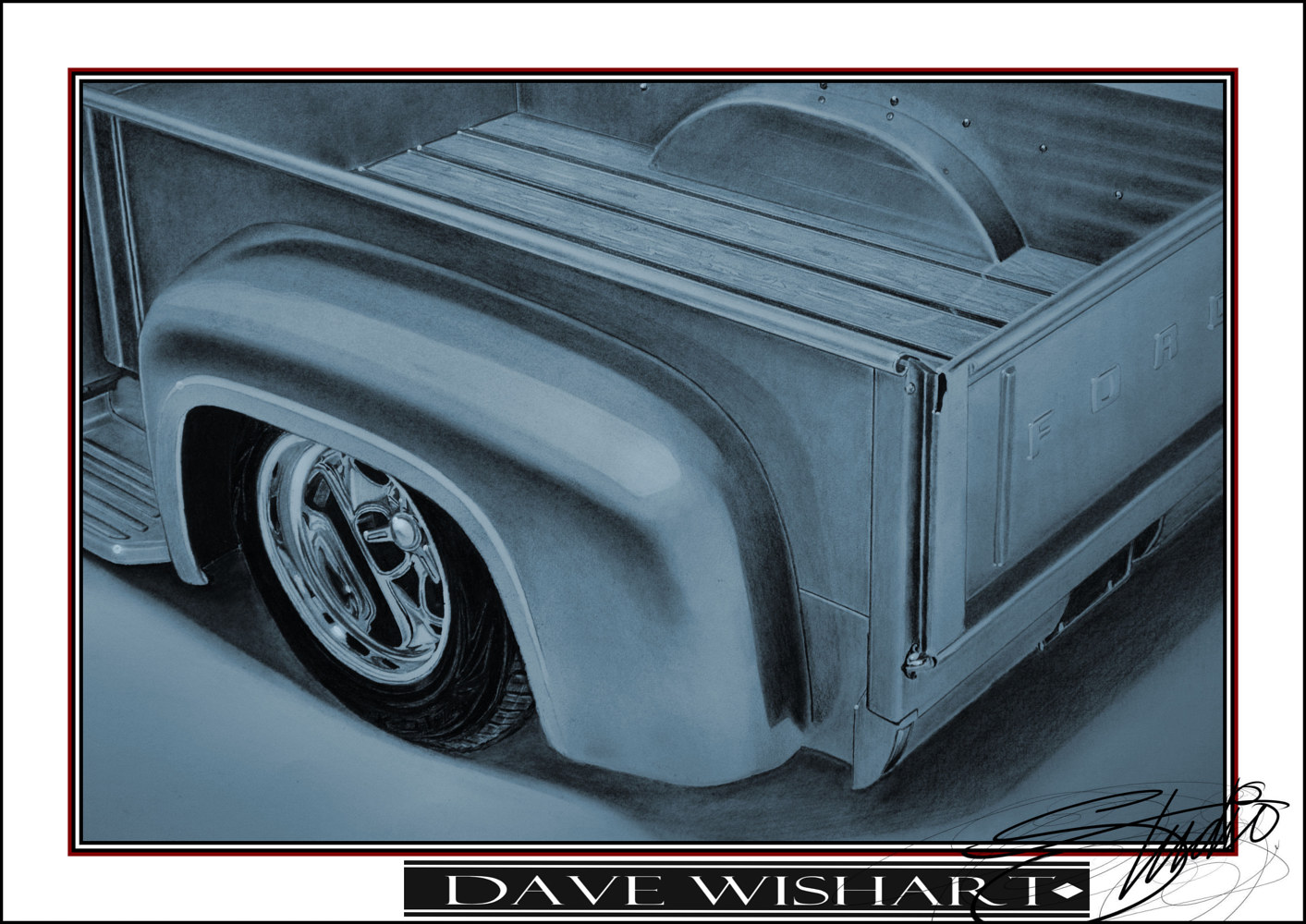 '53 Ford F100 Box View by Dave Wishart