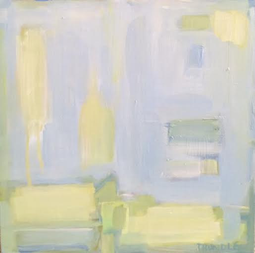 Oil painting Abstract III- SOLD by Sarah Trundle