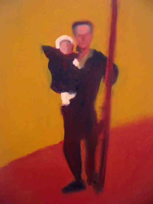 Dad, 2007 by Edith dora Rey