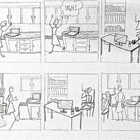 Story boarding by Tracy  Dunbar