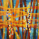 Acrylic painting Transforming 3  by Karen Holland