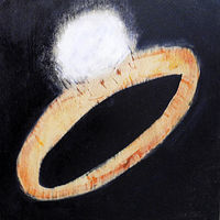 Oil painting With This Ring, 2012 by Edith dora Rey