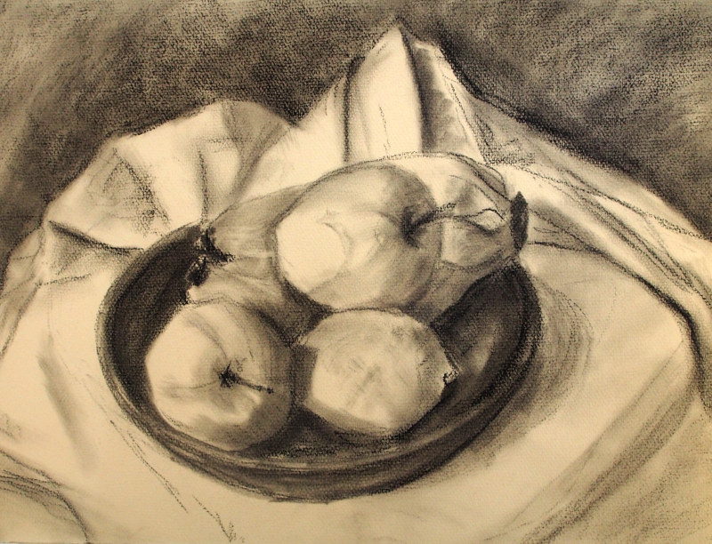 Charcoal Sketch by Michele Barnes
